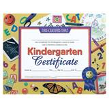 Kindergarten Certificate - School Supplies