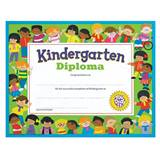 Kindergarten Diploma - Colorful Kids