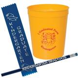 Fun Cup Set - I Graduated From Kindergarten