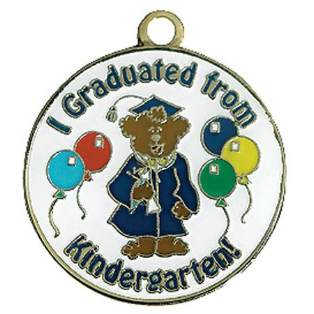 Graduation Tassel With Charm - I Graduated From Kindergarten