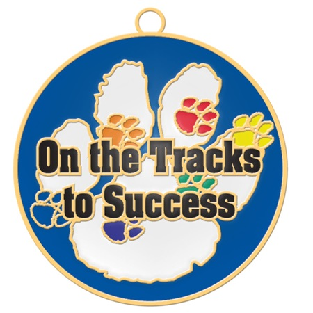 Graduation Tassel With Charm - On the Tracks to Success