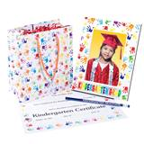 Kindergarten Graduation Handprints Gift Set