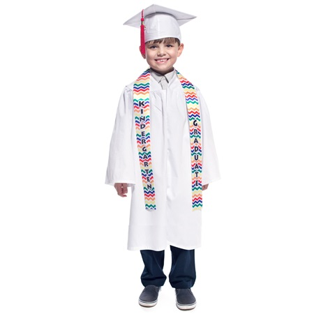 Kindergarten Graduation Sash - Chevron