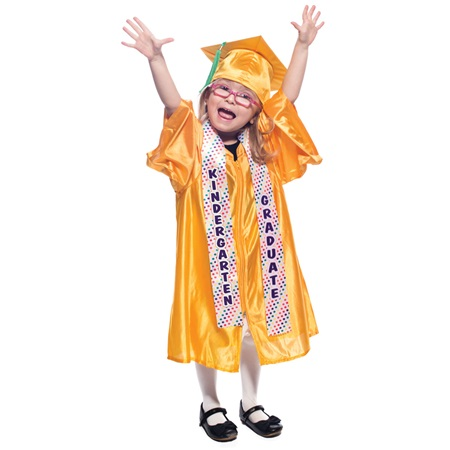 Kindergarten Graduation Sash - Colored Dots