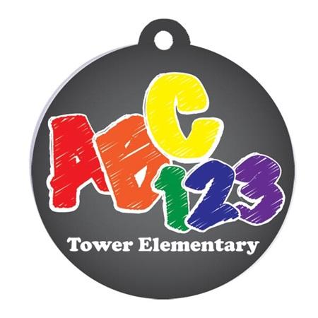 abc 123 custom graduation tassel charm s