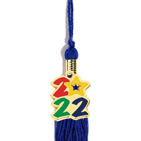 2017 Tassel Charm With Star