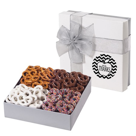 Sweet and Salty Pretzel Gift Box