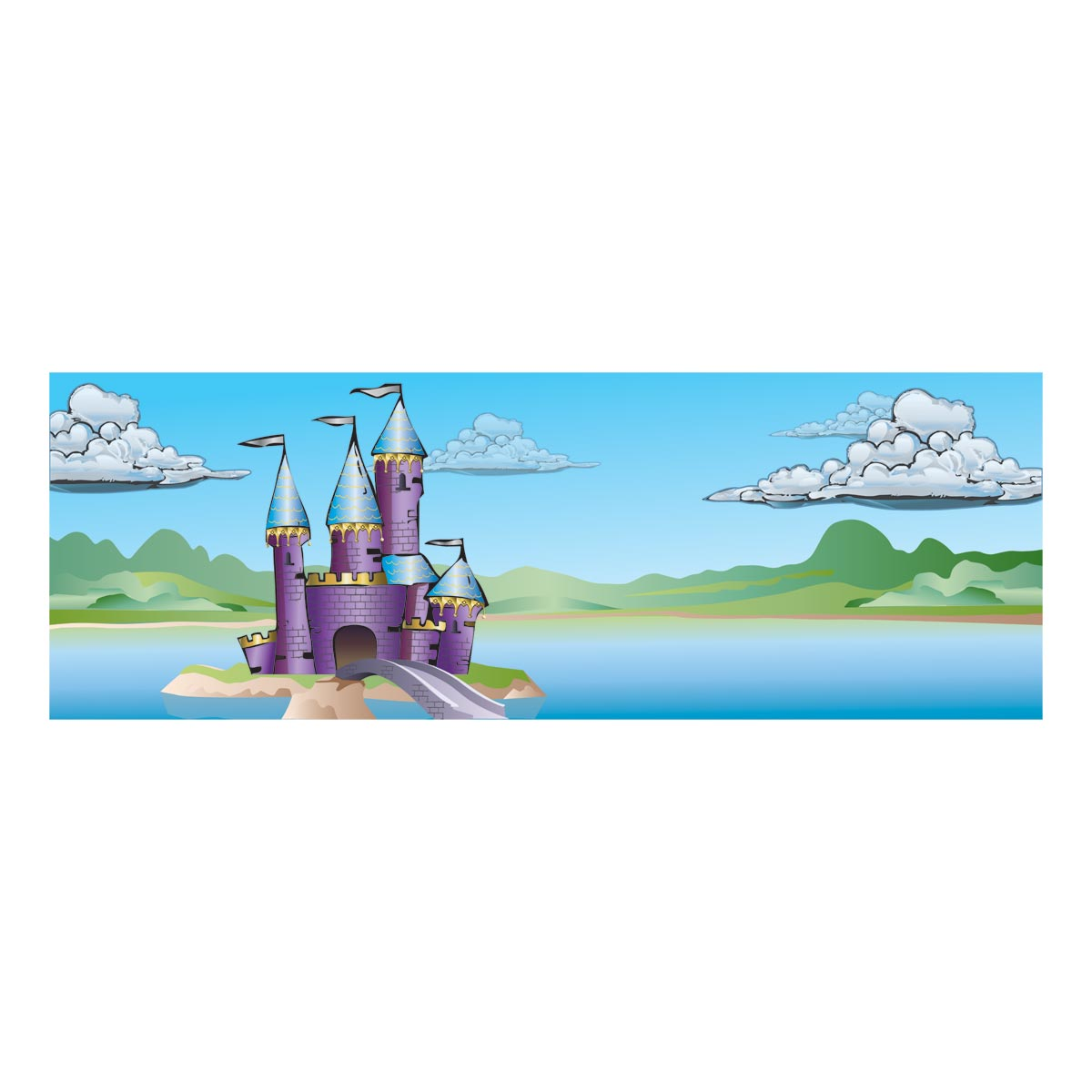 Fairy tale theme reading nook anderson 39 s for Fairy castle mural