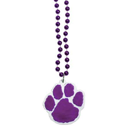 Paw Bead Necklace