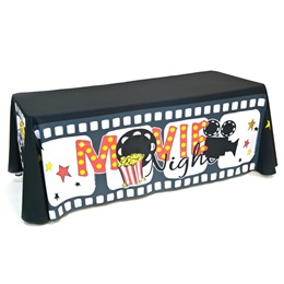 Movie Night Table Throw