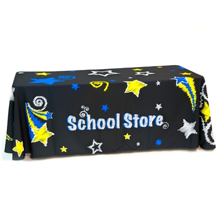 School Store Table Throw - Stars