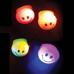 Blinky Smiley Face Ring