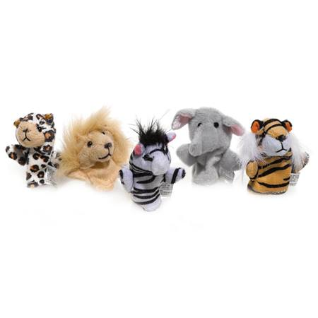 Wild Animal Finger Puppet