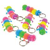 Fuzzy Caterpillar Key Chains