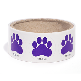 Paw Print Stickers - 100/roll