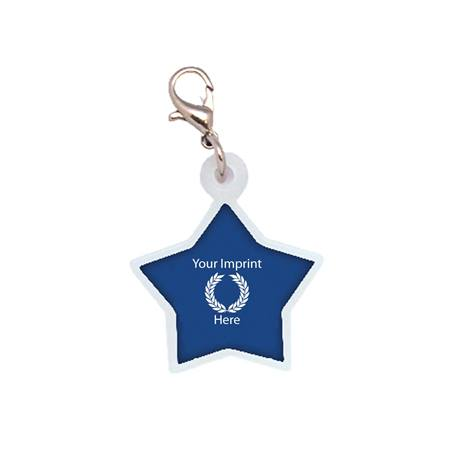 Star Badge Charm Clip