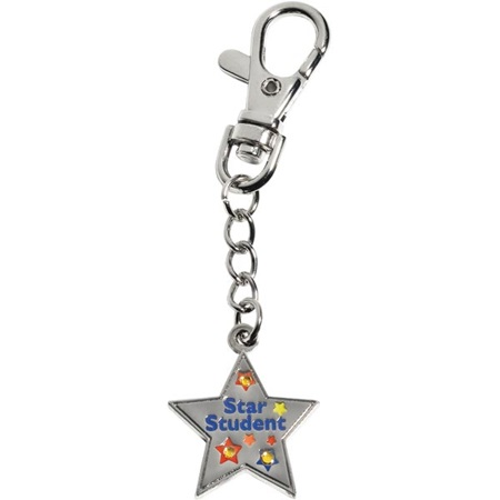 Bling Backpack Charm - Star Student