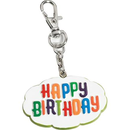 Backpack Charm - Happy Birthday