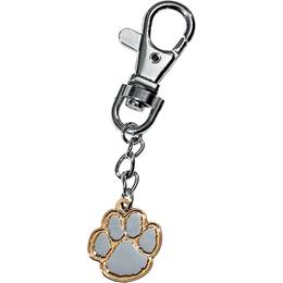 Backpack Charm - Silver/Gold Paw