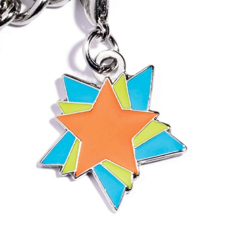 Mini Charm - Colorful Stars