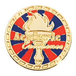 Award Pin - Academic Excellence