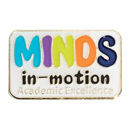 Academic Excellence Award Pin - Minds In Motion
