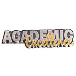 Silver and Gold Academic Excellence Pin
