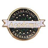 Academic Excellence Award Pin - Celebrating Excellence