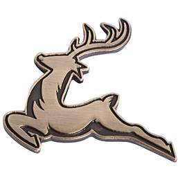 Leaping Reindeer Lapel Pin