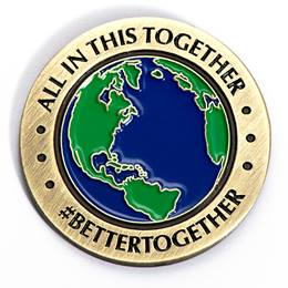 Appreciation Award Pin - All in This Together