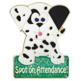 Attendance Award Pin - Spot on Attendance