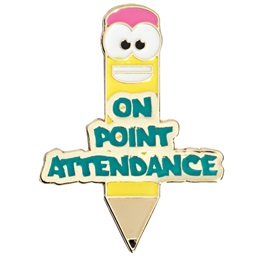 Attendance Award Pin - On Point Attendance