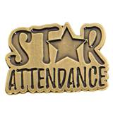 Bronze Star Attendance Pin