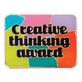 Motivational Award Pin - Creative Thinking Award