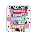 Character Award Pin- Pencil Character Traits