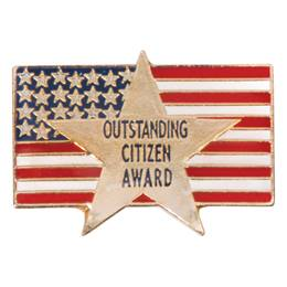 Citizenship Award Pin - Outstanding Citizen Award