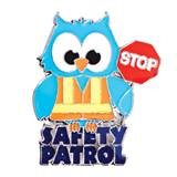Award Pin - Safety Patrol Owl