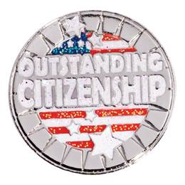 Award Pin - Outstanding Citizenship