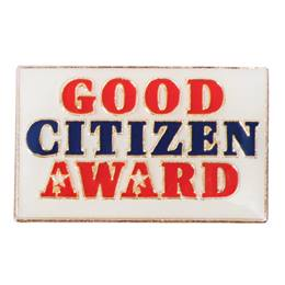 Citizenship Award Pin - Good Citizen Award