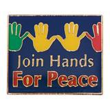 Citizenship Award Pin - Join Hands For Peace