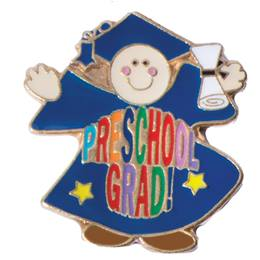 Graduation Award Pin - Preschool Grad
