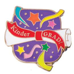Graduation Award Pin - Kinder Grad