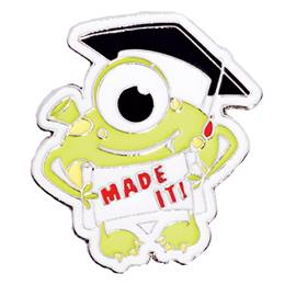 Award Pin - Monster Graduation