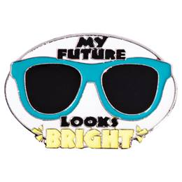 Award Pin - My Future Looks Bright Sunglasses