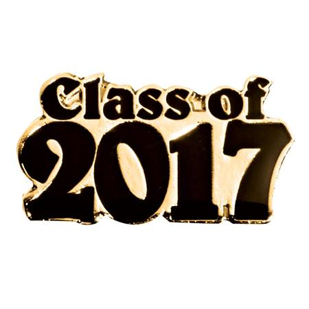 Class of Award Pin - Black/Gold 2017
