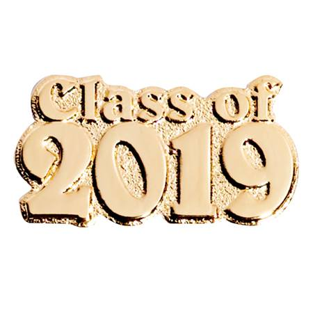 Award Pin - Gold Class of 2019