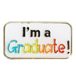 Graduation Award Pin - I'm a Graduate