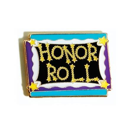 Honor Roll Award Pin – Blackboard