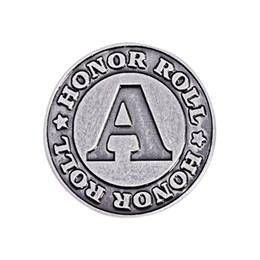 A Honor Roll Award Pin - Silver
