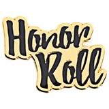 Cursive Honor Roll Pin
